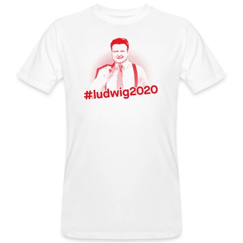 Ludwig 2020 Illustration - Männer Bio-T-Shirt