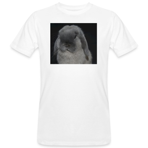 Conejo minilop mujer - Camiseta ecológica hombre