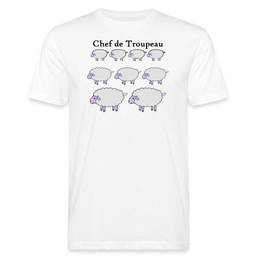 chef-de-troupeau - T-shirt bio Homme