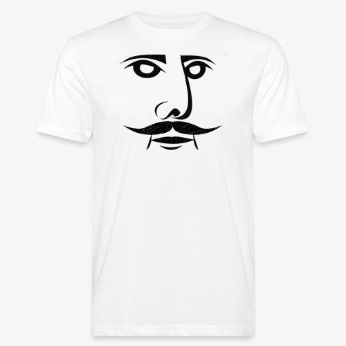 KING OF SCHURBART - Männer Bio-T-Shirt