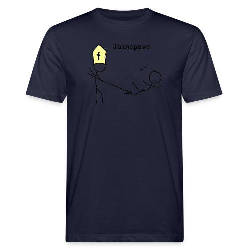 juksepave png - Økologisk T-skjorte for menn
