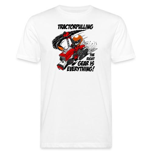 0966 tractorpulling - Mannen Bio-T-shirt