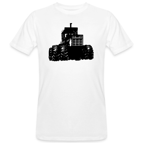 IH 4WD Tractor - Men's Organic T-Shirt