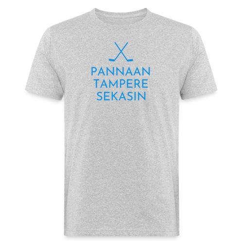 Pannaan Tampere Sekasin - Miesten luonnonmukainen t-paita