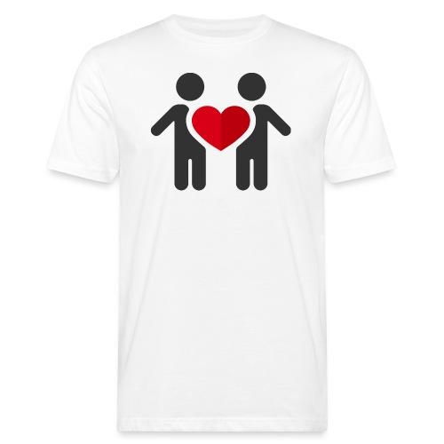 Chemise amour - T-shirt bio Homme