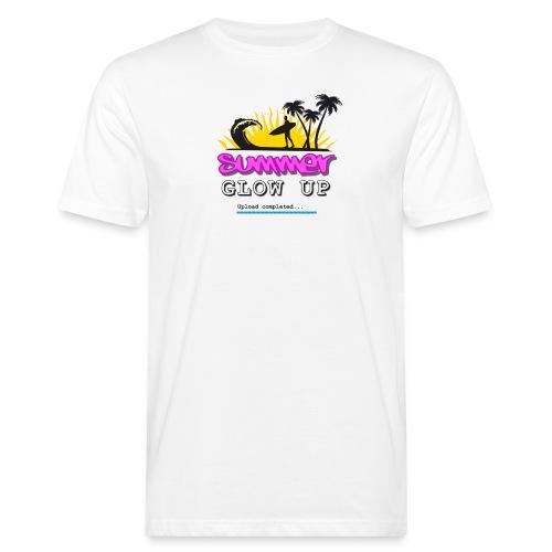 Summer Glow Up - Männer Bio-T-Shirt