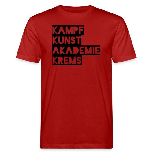 KKA 2016 lifestyle back2 - Männer Bio-T-Shirt