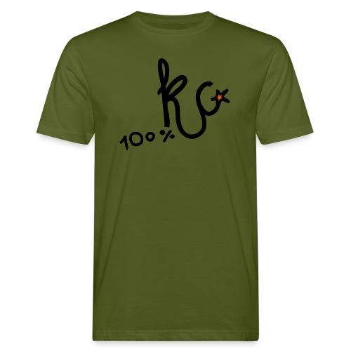 100%KC - Mannen Bio-T-shirt