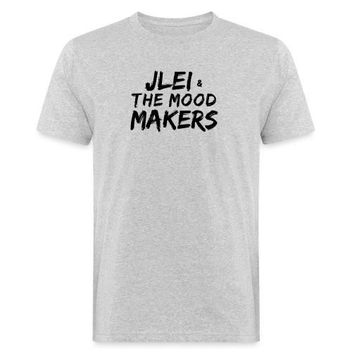 Jlei & The Mood Makers Schriftzug - Männer Bio-T-Shirt