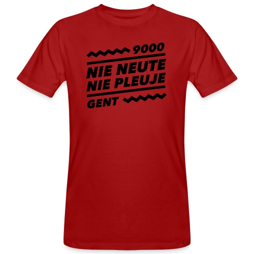 NIENEUTENIEPLEUJE - Mannen Bio-T-shirt