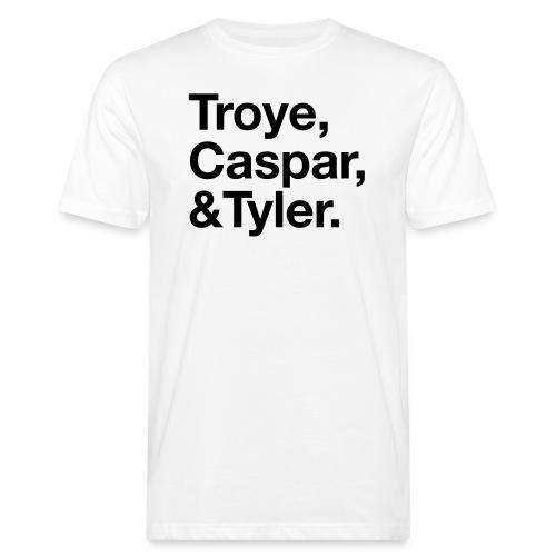 TROYE CASPAR AND TYLER - YOUTUBERS - T-shirt ecologica da uomo