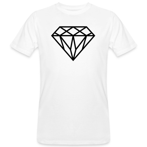 Diamond Graphic // Diamant Grafik - Männer Bio-T-Shirt