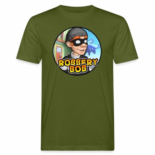 Robbery Bob Button - Men's Organic T-Shirt