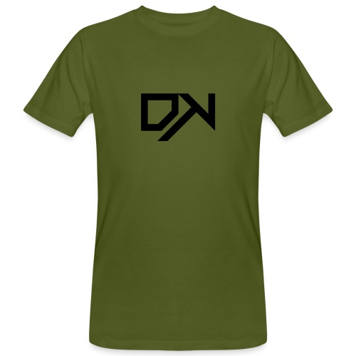 DewKee Logo T-Shirt Black - Men's Organic T-Shirt