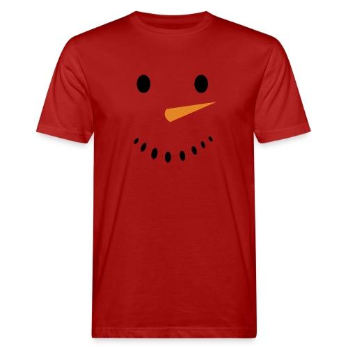 Bonhomme de neige Noël Hiver - T-shirt bio Homme