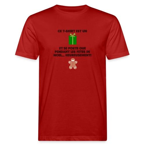 T-shirt cadeau de Noël - T-shirt bio Homme