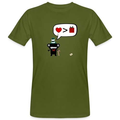 More love less gifts - T-shirt bio Homme