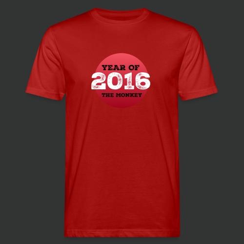 2016 year of the monkey - Men's Organic T-Shirt
