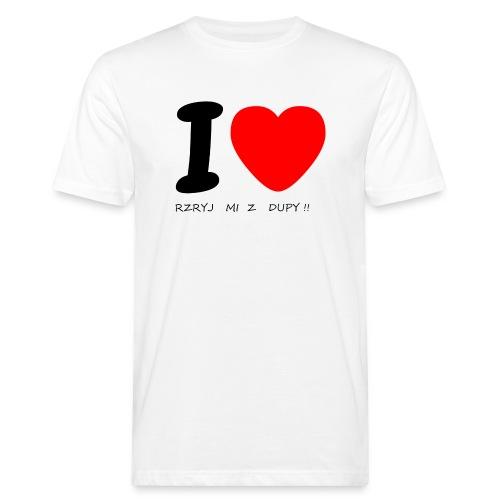 Bluzka męska - Ekologiczna koszulka męska