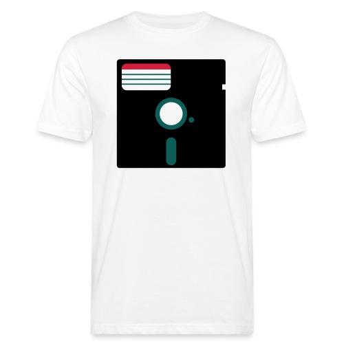 5 1/4 inch floppy disk - Miesten luonnonmukainen t-paita