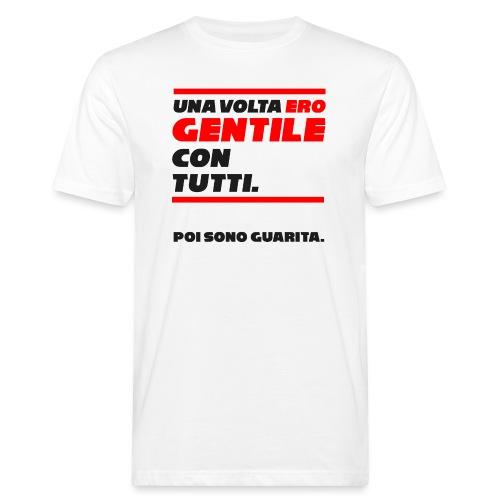 COVER UNA VOLTA ERO GENTILE CON TUTTI. - T-shirt ecologica da uomo