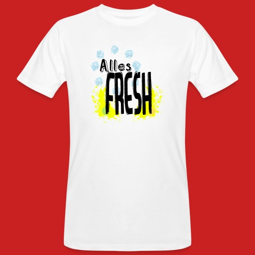 Alles Fresh / Frisch Sommer Eis - Männer Bio-T-Shirt
