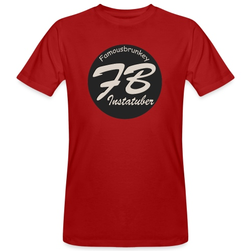 TSHIRT-YOUTUBER-EXTRA - Mannen Bio-T-shirt