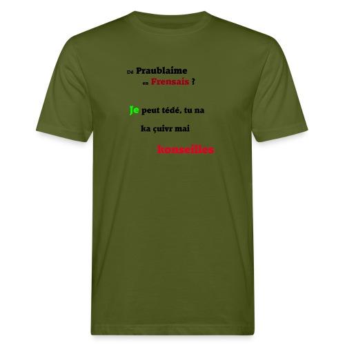 Probleme en français - T-shirt bio Homme