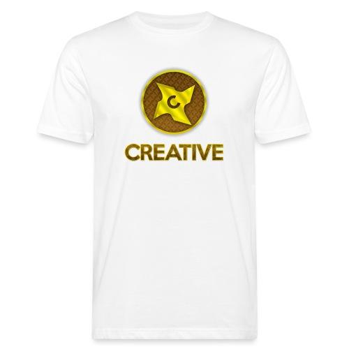 Creative logo shirt - Organic mænd