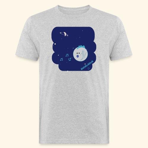 Enceladus punk rock moon of Saturn - Ekologisk T-shirt herr