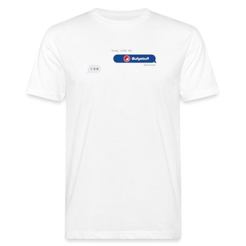 BULGEBULL TEXT - Men's Organic T-Shirt