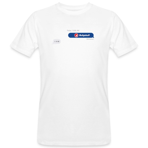 BULGEBULL TEXT - Camiseta ecológica hombre