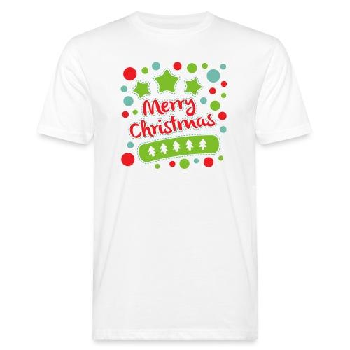 Merry Christmas - Men's Organic T-Shirt
