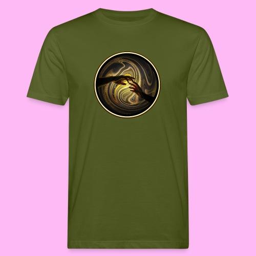 Reach out and touch faith - Miesten luonnonmukainen t-paita