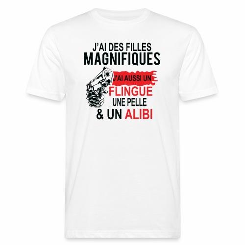 J'AI DEUX FILLES MAGNIFIQUES Best t-shirts 25% - T-shirt bio Homme