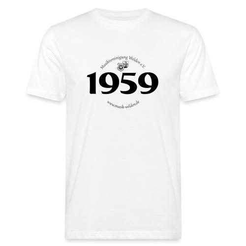 MVW 1959 sw - Männer Bio-T-Shirt