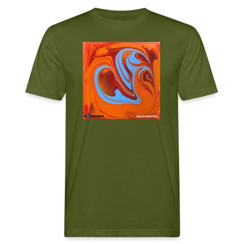 TIAN GREEN Mosaik DK005 - Herzenswelten - Männer Bio-T-Shirt