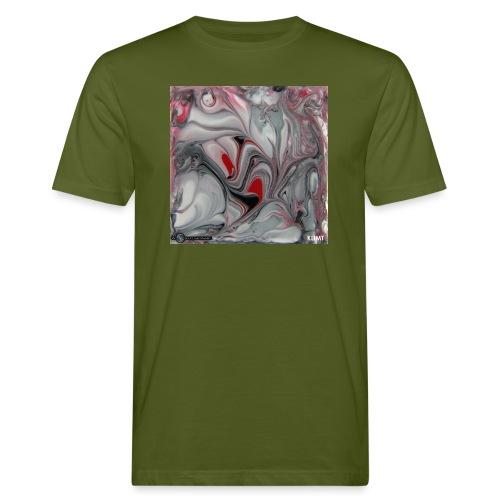 TIAN GREEN Mosaik DK016 - KLIMT - Männer Bio-T-Shirt