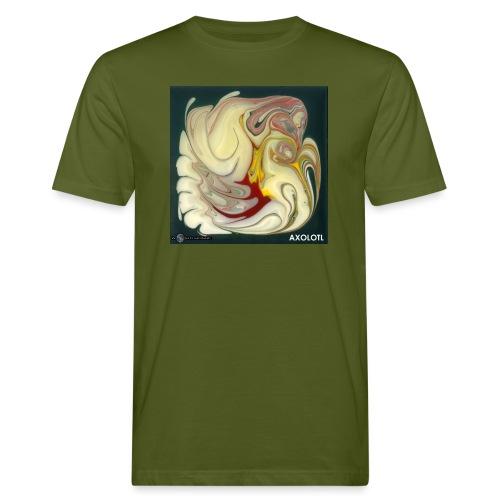 TIAN GREEN Mosaik DE114 - Axolotl - Männer Bio-T-Shirt