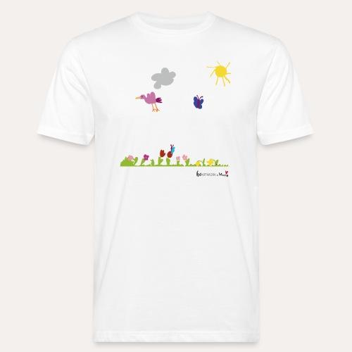 Blumenwiese von Marie - Männer Bio-T-Shirt