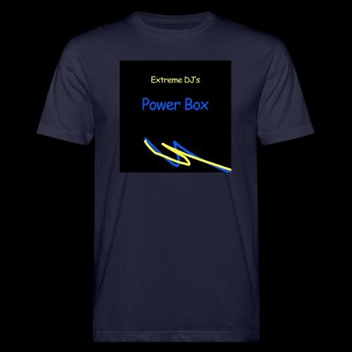 powerbox - Miesten luonnonmukainen t-paita