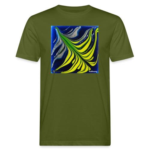 TIAN GREEN Mosaik DK037 - Hoffnung - Männer Bio-T-Shirt