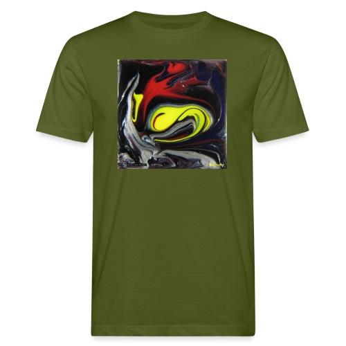 TIAN GREEN Mosaik DK039 - Beauty - Männer Bio-T-Shirt
