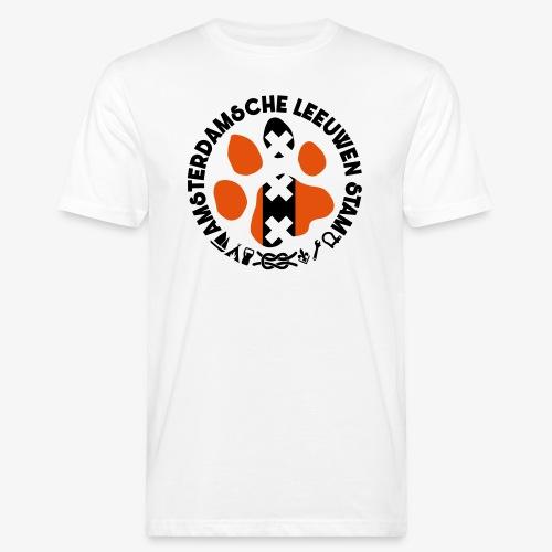 ALS witte rand licht - Mannen Bio-T-shirt