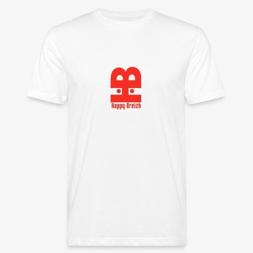 happy breizh logo - T-shirt bio Homme