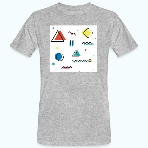 Abstract geometry - Men's Organic T-Shirt