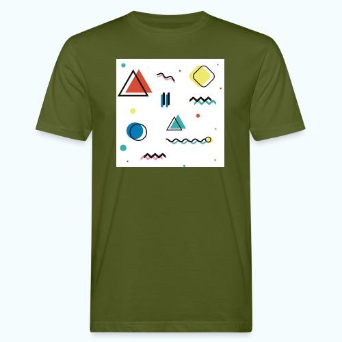 Abstract geometry - Men's Organic T-Shirt