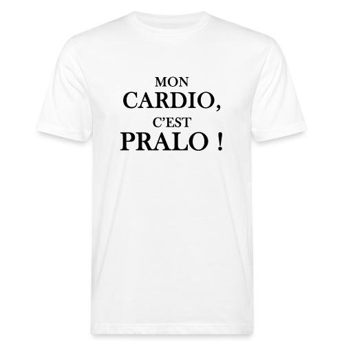 mon cardio c est pralo - T-shirt bio Homme
