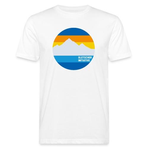 Gletscher-Initiative - Männer Bio-T-Shirt