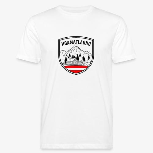 hoamatlaund österreich - Männer Bio-T-Shirt